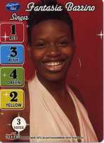 Fantasia Barrino American Idol Card