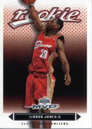 Lebron James RC Card - Front