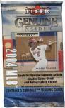 2004 Fleer Genuine Insider Baseball Pack