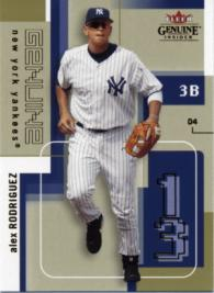 A-Rod Basic Card - Front