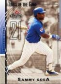 Sammy Sosa Tools of the Trade Card