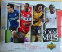 2004 Upper Deck MLS Soccer Box