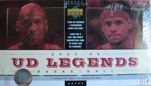 2003-04 Upper Deck Legends Basketball Box