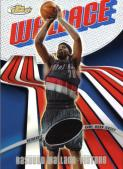 Rasheed Wallace Veteran Relic Base Refractor Card
