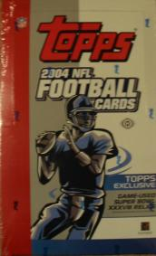 2004 Topps Football Box