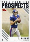 Eli Manning Premiere Prospects Insert Card