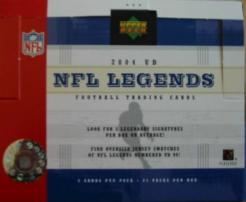 2004 Upper Deck NFL Legends Football Box