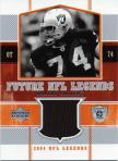 Robert Gallery Future NFL Legends Jersey Card