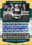 Louis Wright Legendary Signatures Card