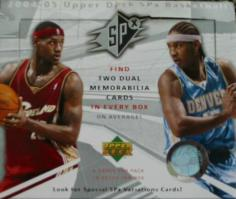 2004-05 Upper Deck SPx Basketball Box