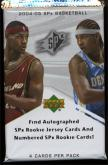2004-05 Upper Deck SPx Basketball Pack