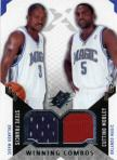 Steve Francis and Cuttino Mobley Winning Combos Game-Used Insert Card