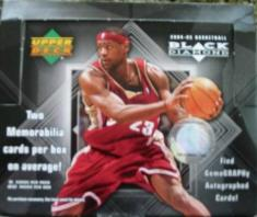 2004-05 Upper Deck Black Diamond Basketball Box
