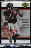 2004 Upper Deck Sweet Spot Football Pack