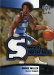 Andre Miller Sweet Swatches Card