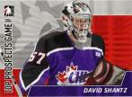 David Shantz Top Prospects Game Insert Card