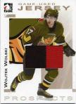 Wojtek Wolski Prospects Game-Used Jersey Gold Version Card
