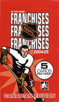 2004-05 In The Game Franchises Hockey - Canadian Edition Box