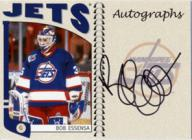 Bob Essensa Autographed Card