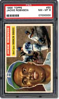 Jackie Robinson Card Front