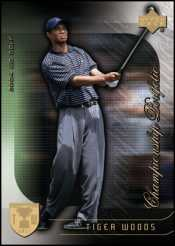 Tiger Woods Card