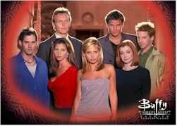 Buffy Season 3 Cast Card