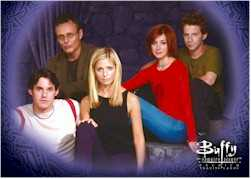 Buffy Season 4 Cast Card
