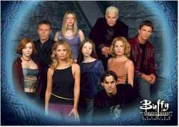 Buffy Season 5 Cast Card