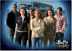 Buffy Season 7 Cast Card