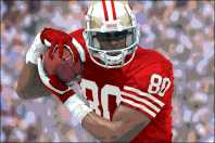 Jerry Rice Collector's Club Photo