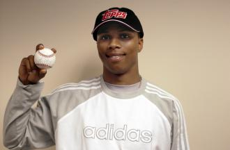 Sebastian Telfair Signed Baseball