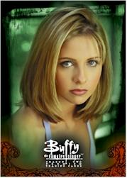 Buffy Season Two Promo Card