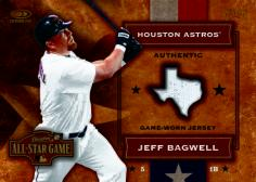 Bagwell Game-Worn Card