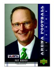 Pat Haden Analyst Card