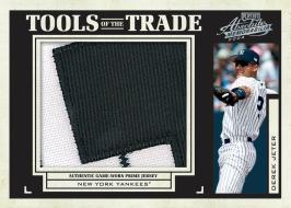 Jeter Tools of the Trade Card