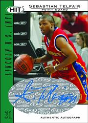 Sebastian Telfair Card