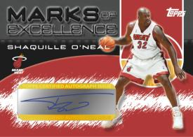 Shaq Miami Heat Card