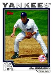 2004 Topps Traded & Rookies - A-Rod