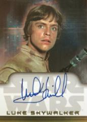Topps Star Wars Heritage - Mark Hamill/Luke Skywalker Autograph Card