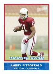 2004 Bazooka Football - Larry Fitzgerald RC Card