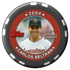 Carlos Beltran 2004 League Championship Series Chip