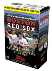 Topps Red Sox World Champions Set