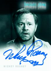Twilight Zone Series 4: Science & Superstition Mickey Rooney Autograph Card
