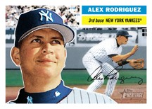 2005 Topps Heritage Alex Rodriguez Card
