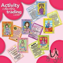 U GO GRL Activity Collectible Trading  Cards