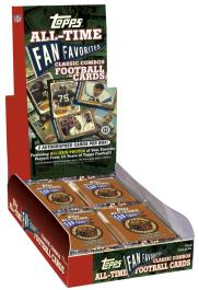 Topps Fan Favorites Football Box