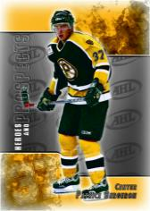 Patrice Bergeron Heroes &  Prospects Update Card