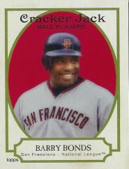 2005 Topps Cracker Jack Baseball Barry Bonds Card