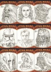 Topps Revenge of the Sith Sketch Card