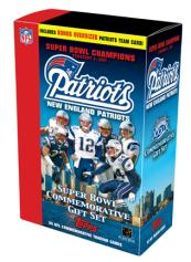 Topps New England Patriots Super Bowl XXXIX Champions Set